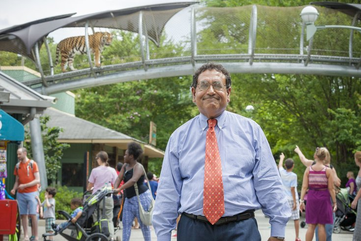 Carroll - Philadelphia Zoo CEO Vik Dewan