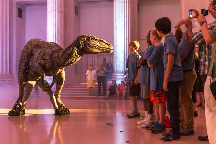 Carroll - Jurassic World at the Franklin Institute