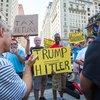 Carroll - Trump at Union League Protest