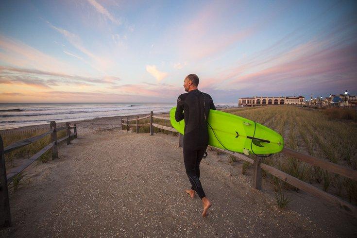Carroll - Jersey Shore Surfing Trip