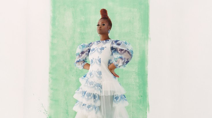 Tierra Whack on the cover of Teen Vogue