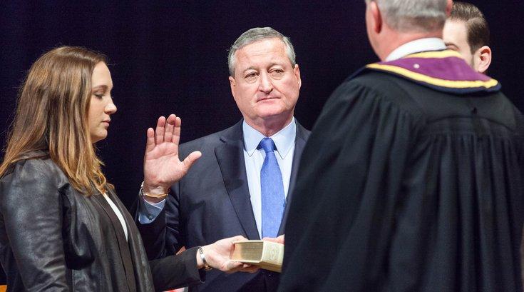 Carroll - Mayor Jim Kenney Swearing in as Mayor