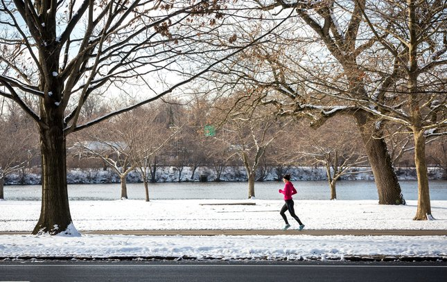 Carroll - Snow on Schuylkill River Trail