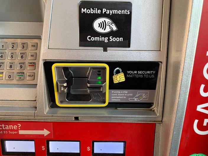 wawa gas station pumps
