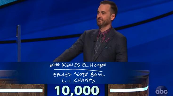 Jeopardy GOAT Rutter Eagles