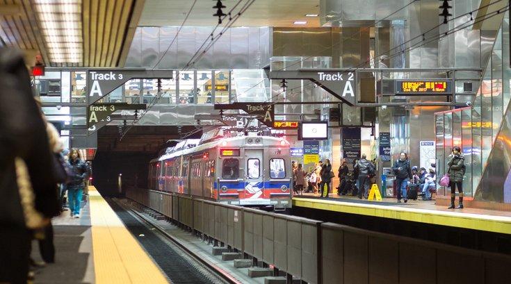 SEPTA key Jefferson station