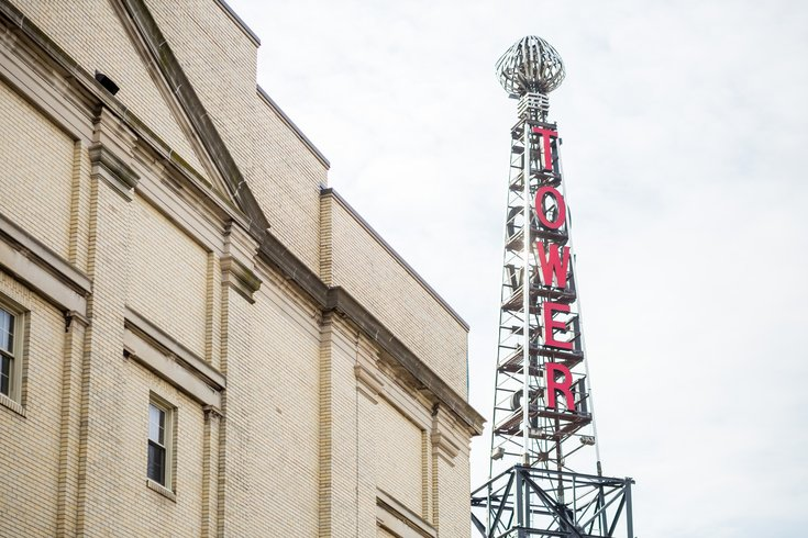 Tower Theater sign removal