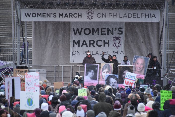 2020 Philly Women's March 2