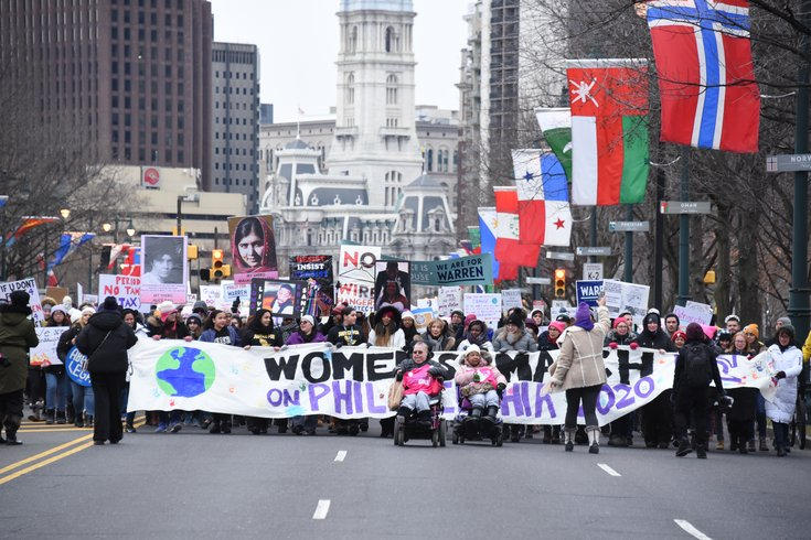 2020 Philly Women's March 5