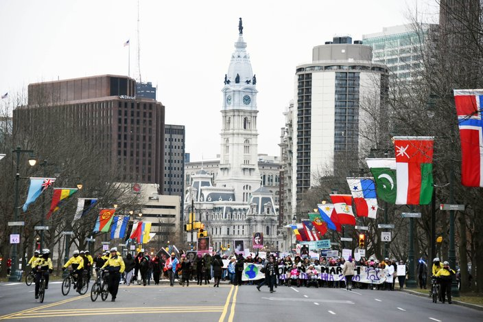 2020 Philly Women's March 6