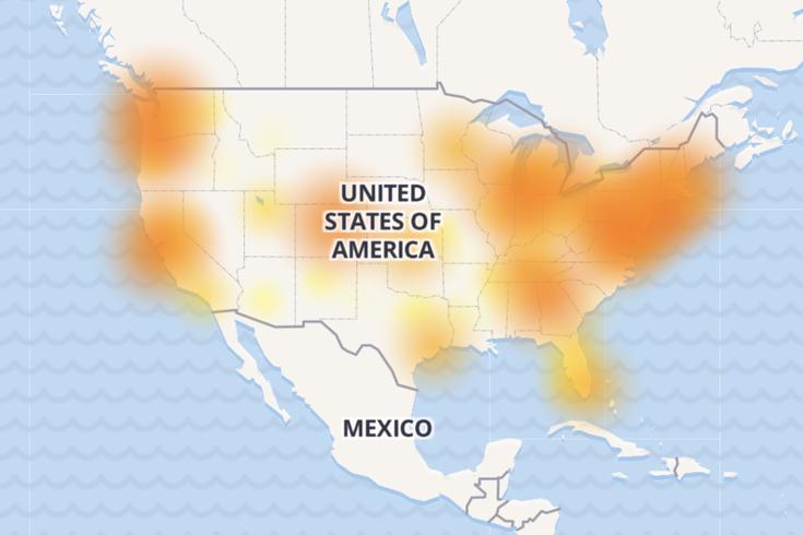 comcast xfinity outage internet