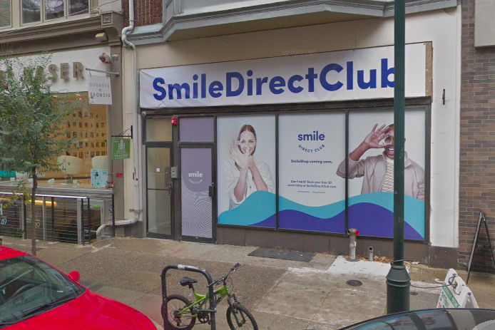 SmileDirectClub teeth-straightening