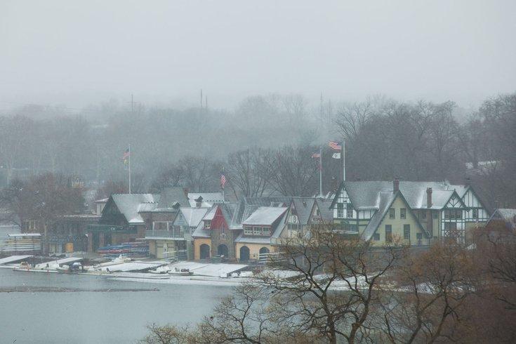 Carroll - Snow in Philadelphia Boathouse Row