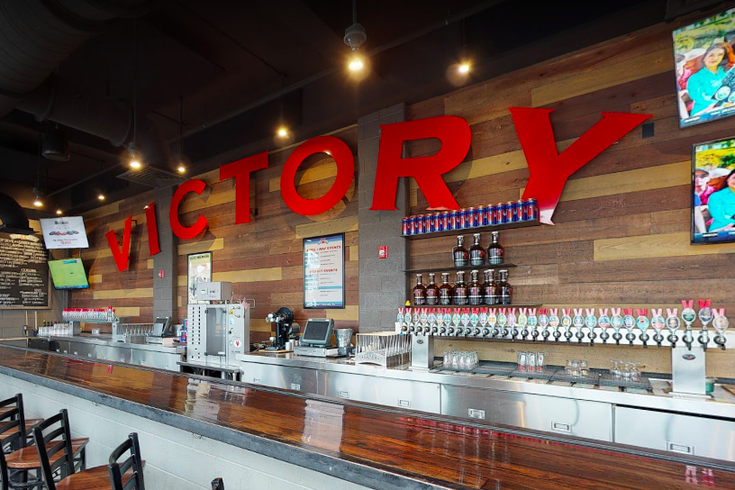 Victory Brewing fire