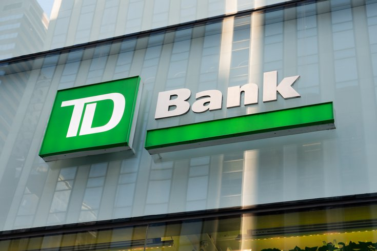 TD Bank closings