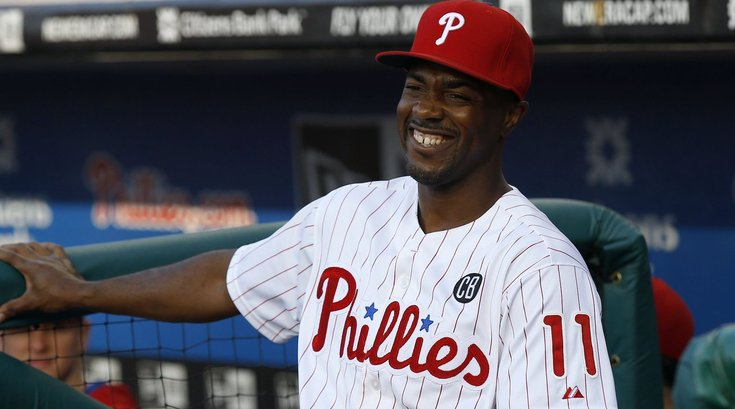 Jimmy Rollins Big Ol' Smile