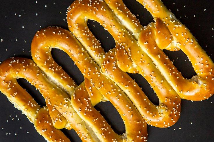 Carroll - Philly soft pretzels