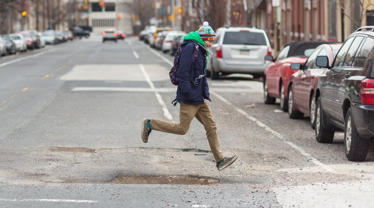 potholes philadelphia streets