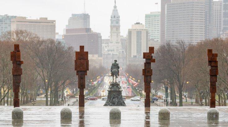 Carroll - Stand installation Philadelphia Museum of Art
