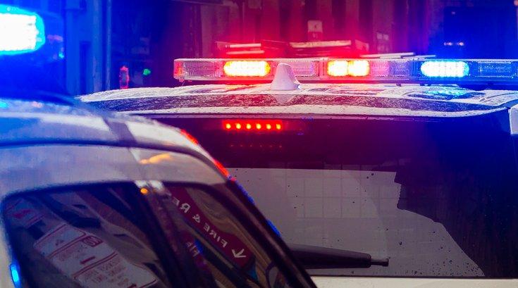 Police lights arrests crime