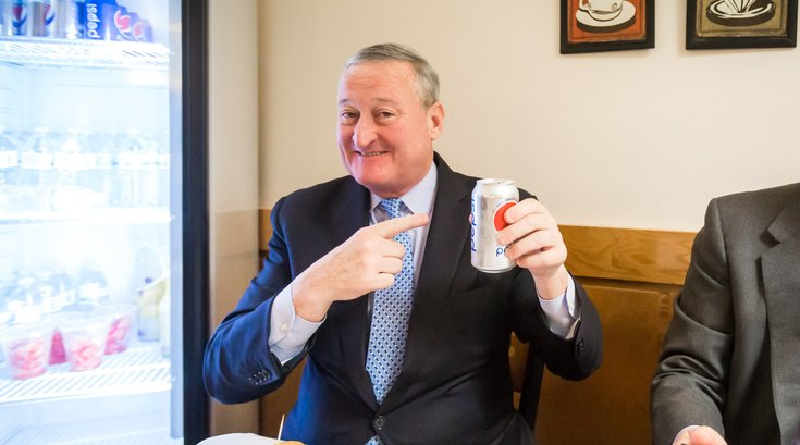 Carroll - Mayor Kenney - Sugary Beverage Tax Event
