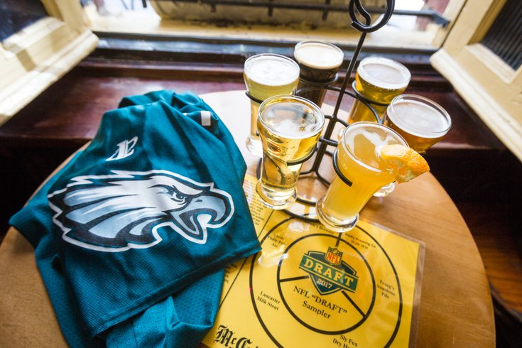 Carroll - NFL Draft Drinks at McGillin's