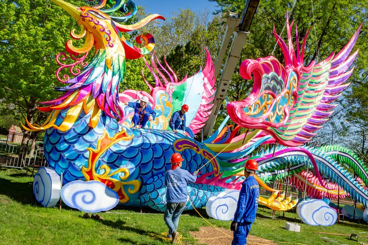 f1524e484 PHOTOS: The 2019 Philadelphia Chinese Lantern Festival | PhillyVoice