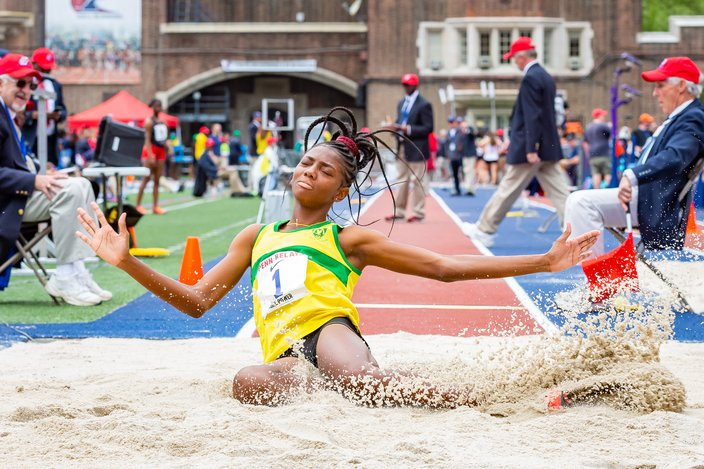 Carroll - 2019 Penn Relays Shantae Foreman of Excelsior High Sch
