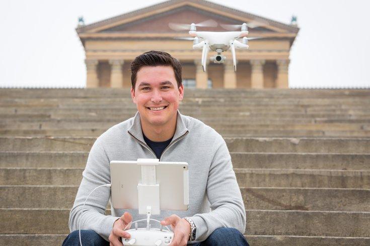 Carroll - Drone operator Brett Tiagwad