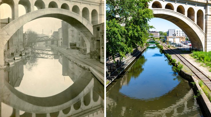 Carroll - Manayunk Then / Now
