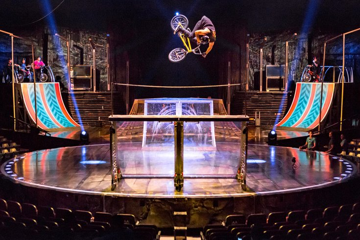 Carroll - Cirque du Soleil Volta rehearsal