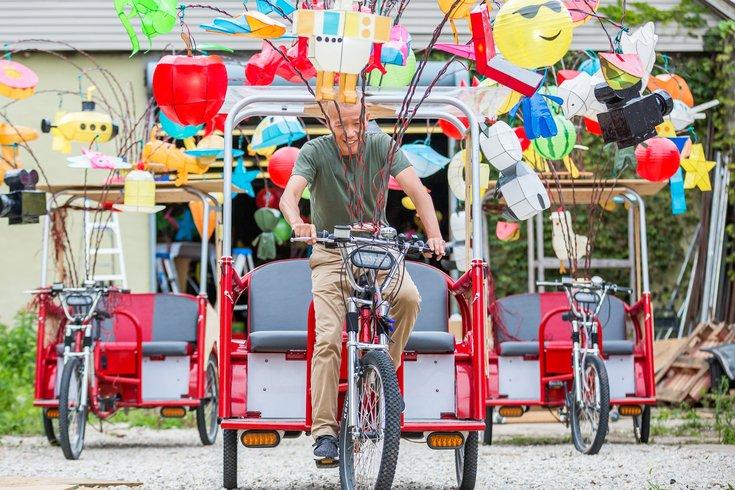 Carroll - Pedicabs Public Art