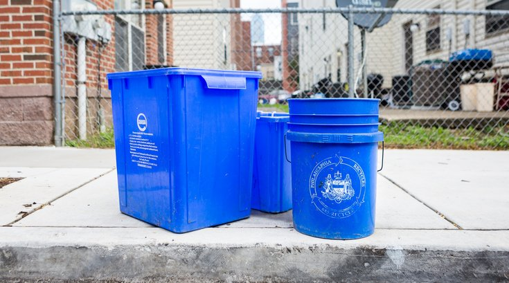 Philadelphia Recycling Bins