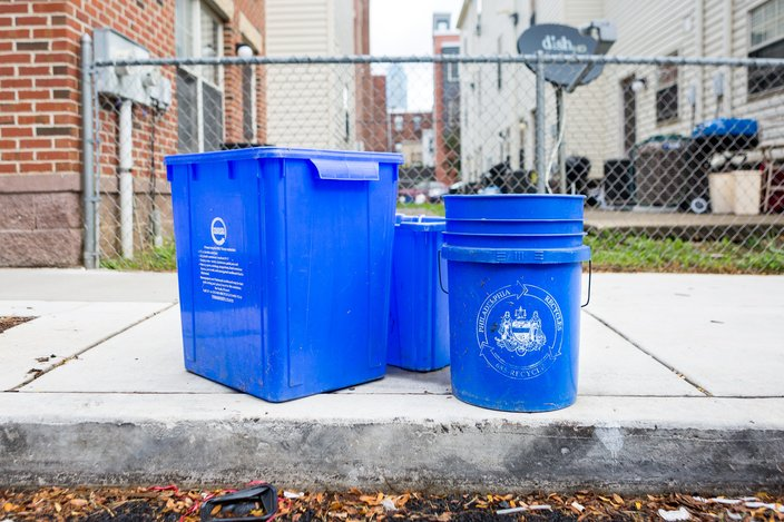 Philadelphia Recycling Bins