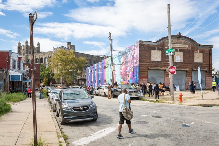 Carroll - Dreams, Diaspora, and Destiny Mural