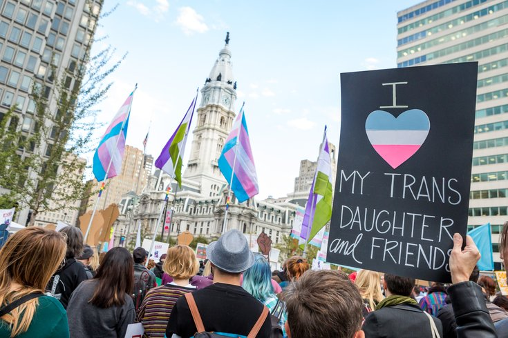 Carroll - Rally for Trans Existence and Resistance