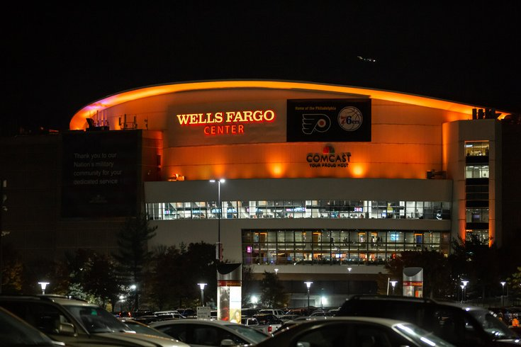 Video Shows Hit And Run At Wells Fargo Center After Sixers Game