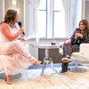 DeHuff - Celebrity Chef Rachel Ray spoke with Kathy Romano at th