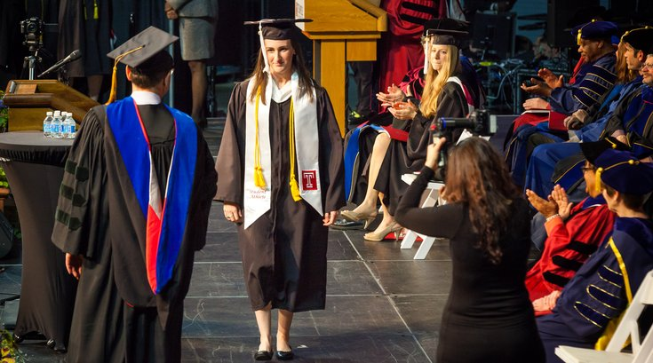 Rachel Hall Temple graduation