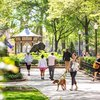 Carroll - Walking in Rittenhouse Square
