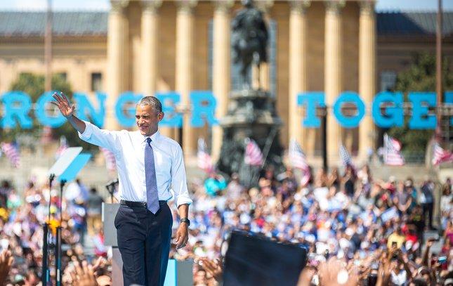 Carroll - President Barack Obama in Philadelphia