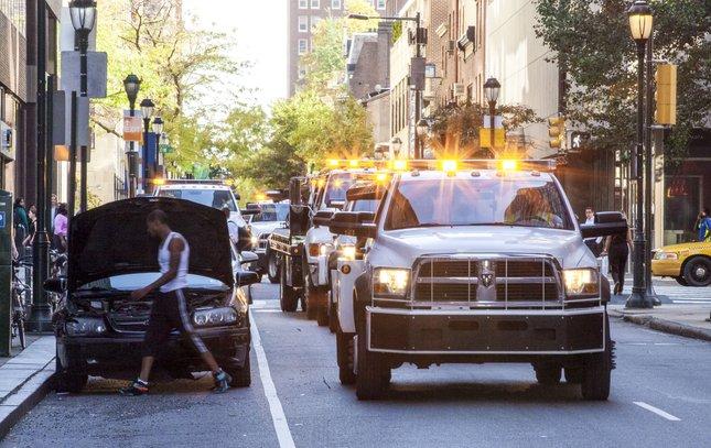 Carroll - Papal Visit Tow Trucks