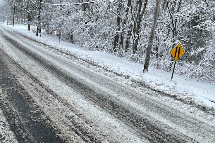 Philadelphia nor'easter snowstorm