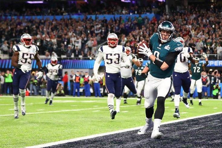 Super Bowl Twitter reactions  Eagles fans lose their minds during ... 67929cd87