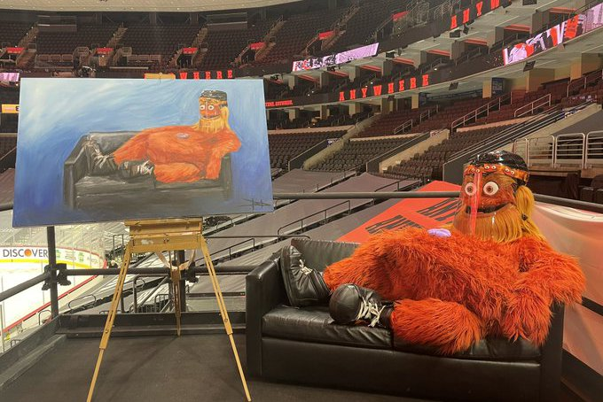 Gritty Flyers Portrait