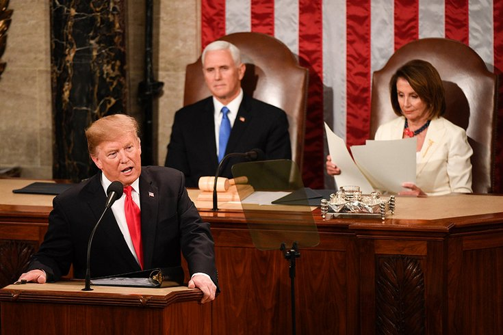 Trump's State of the Union addresses security risks, leaves out climate change
