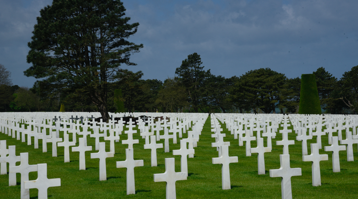 Normandy Cemetery WWII