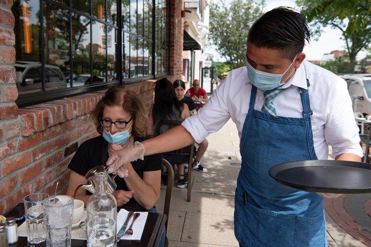 N.J. outdoor dining