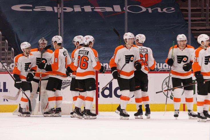 Flyers games postponed
