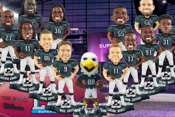 2bdcbb88fa3 Bobblehead of Jason Kelce in Mummers garb could be on the way ...